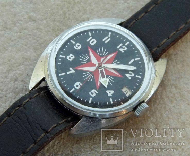 Часы восток  ссср  (51), фото №4