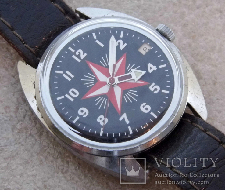Часы восток  ссср  (51), фото №5
