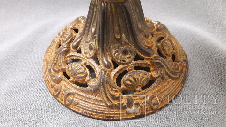 Старинная керосиновая лампа., фото №4