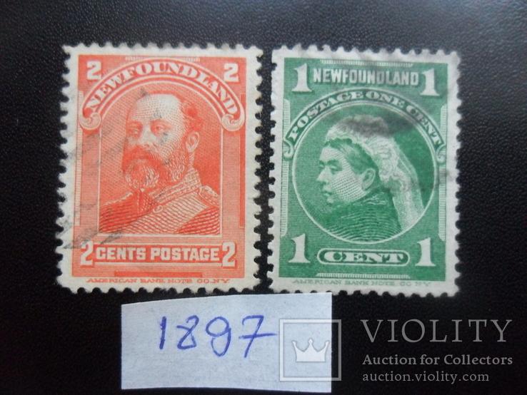 Британские колонии. Ньюфаундленд. 1897 г. гаш