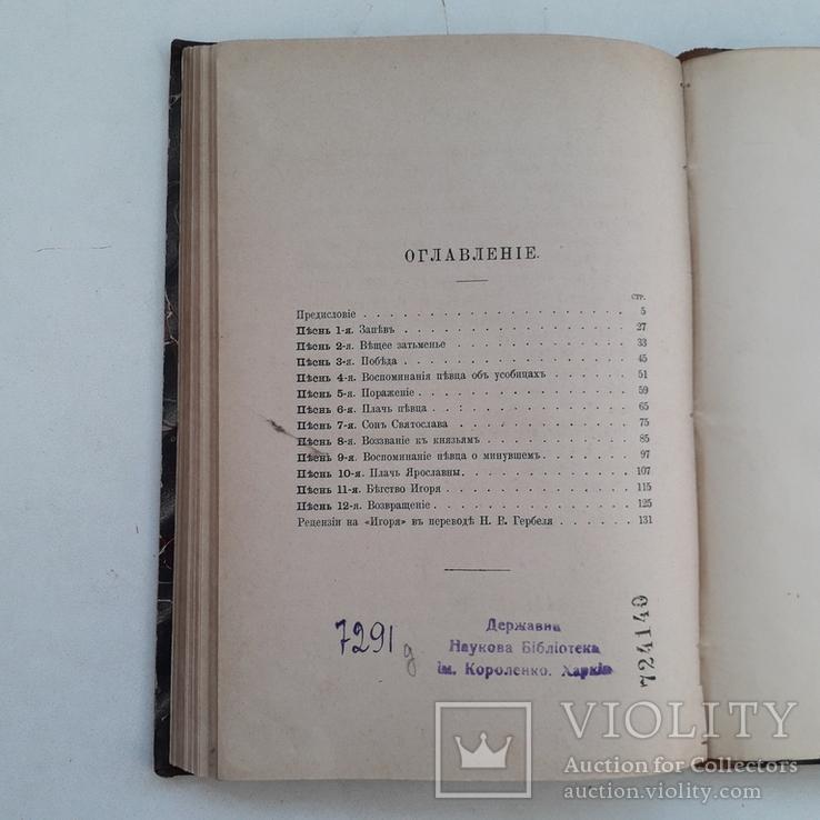 1881 г. - Слово о полку Игореве, фото №11