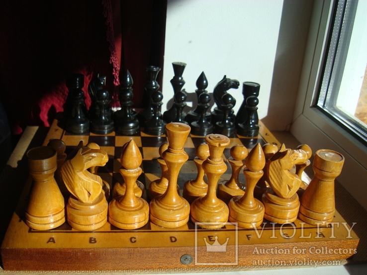 Шахматы деревянные большие СССР, фото №2