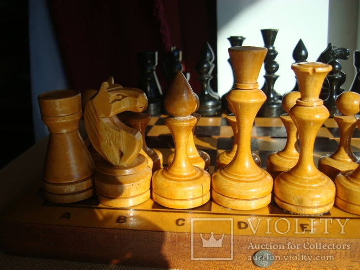 Шахматы деревянные большие СССР, фото №4