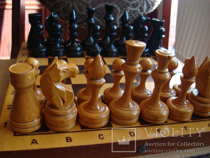 Шахматы деревянные большие СССР, фото №6