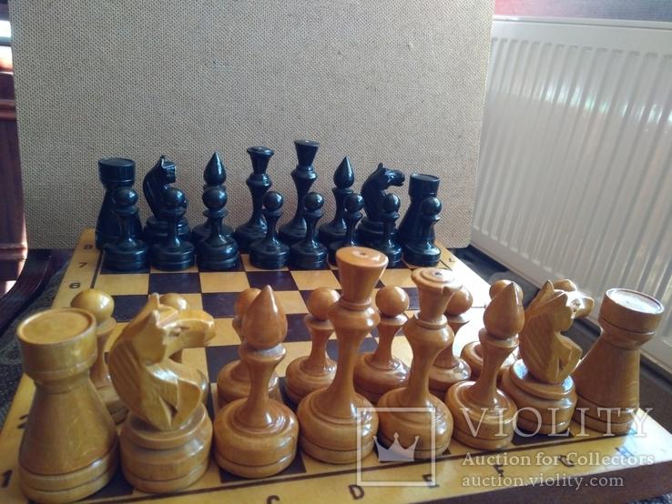 Шахматы деревянные большие СССР, фото №9