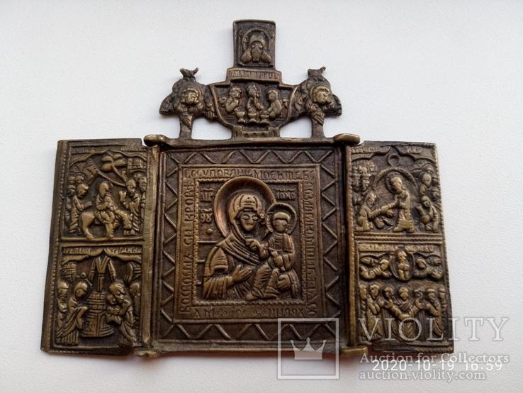 Складень Богоматерь Смоленская №2, фото №2