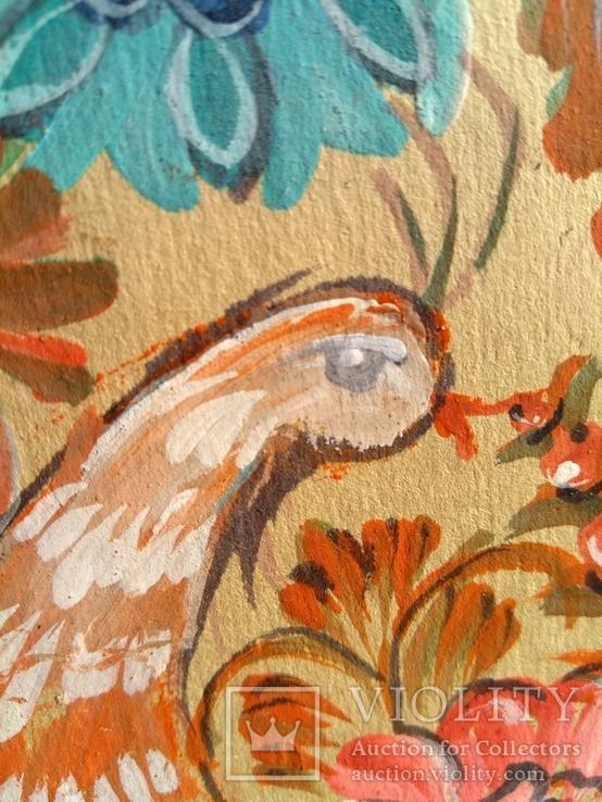 Образец росписи для кухонных досок медовая акварель. 1, фото №5