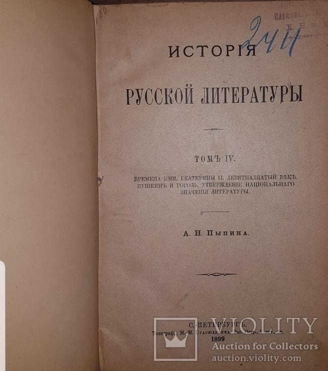 Фундаментальная работа, итог многолетнего изучения русской литературы автором, фото №9