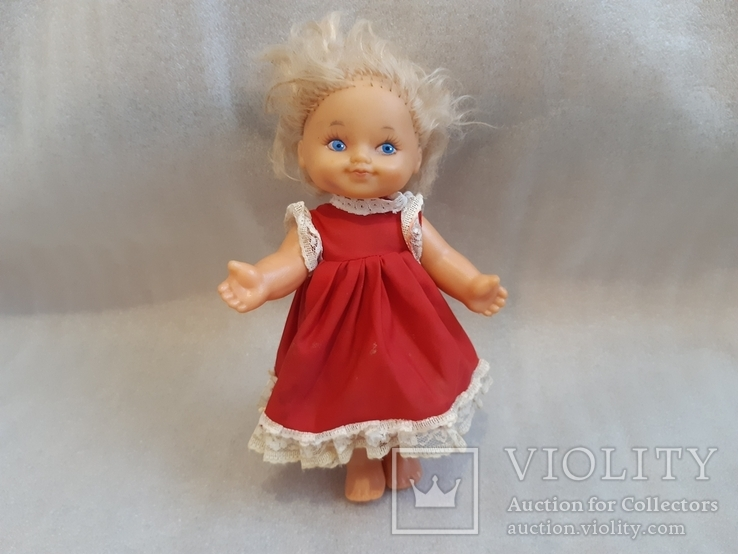Кукла на резинках, клеймо, фото №2