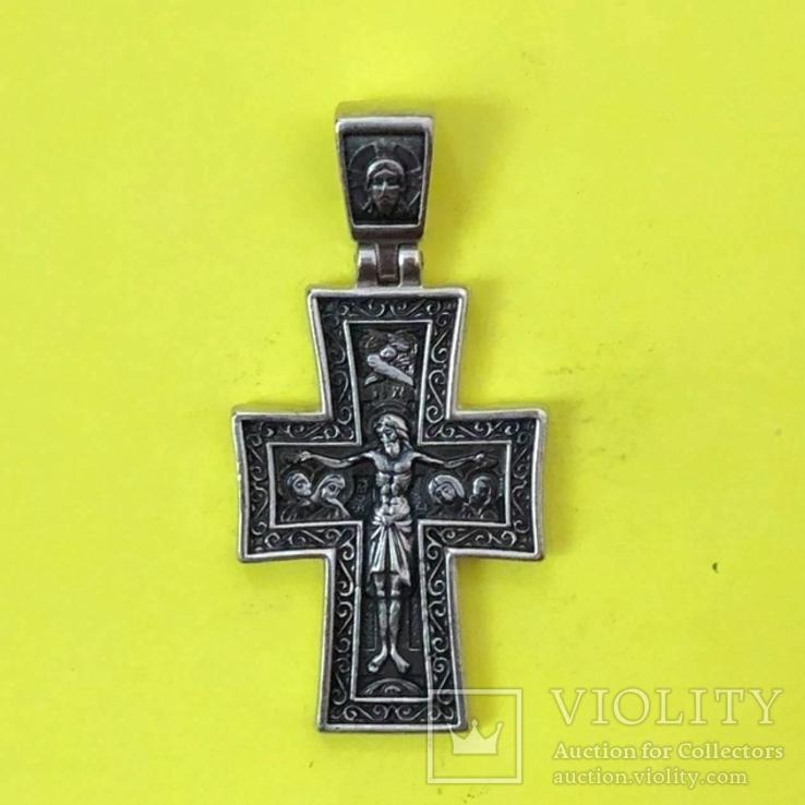 Хрест Срібло 925 проба. 7,58 грама., фото №2