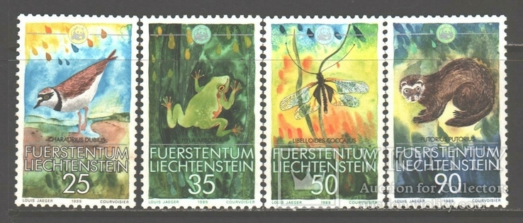 Лихтенштейн. 1989. Фауна.