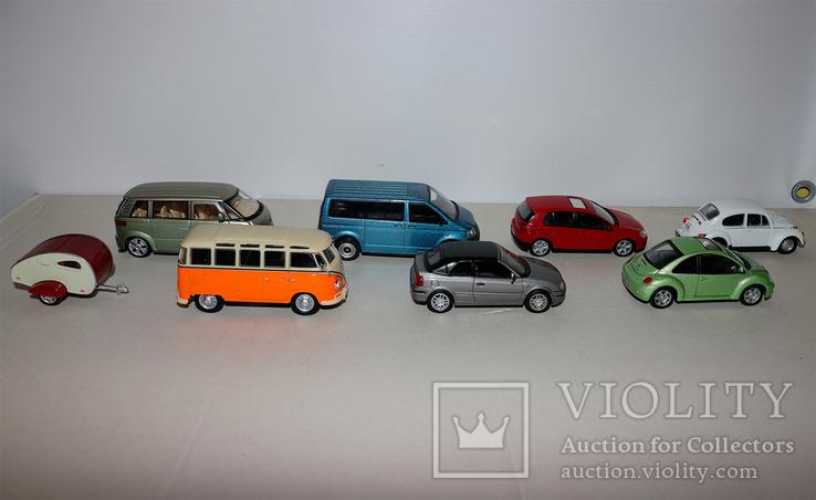 Масштабные модели VW 1:43, фото №2