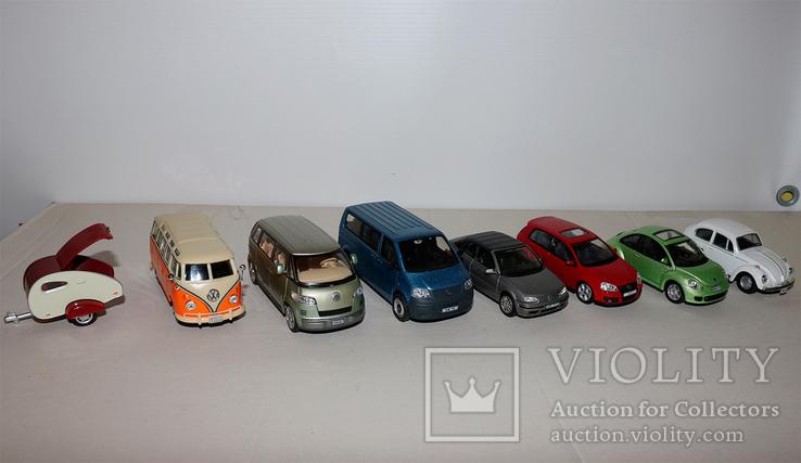 Масштабные модели VW 1:43, фото №3