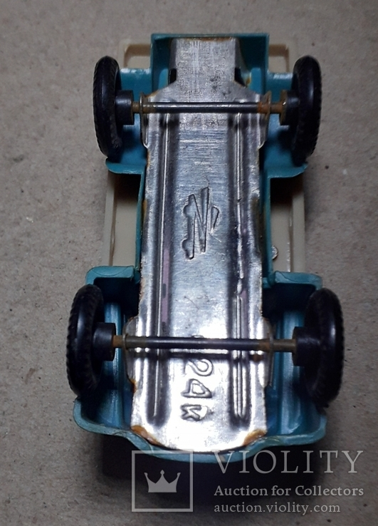 Грузовая машинка времён СССР длина 9 см., фото №4