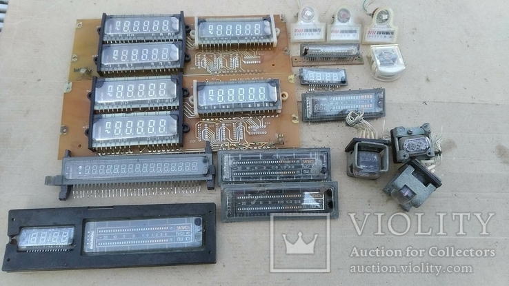 Индикаторные лампы, приборы, фото №2