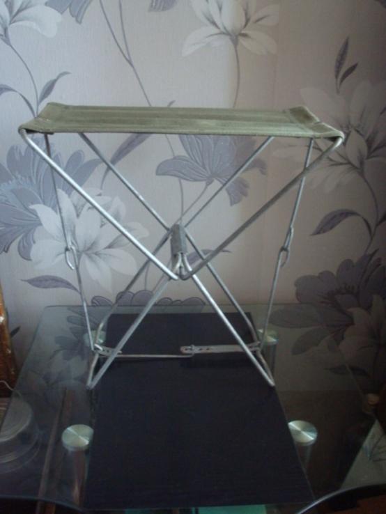 Складной стульчик,сидушка СССР, фото №2