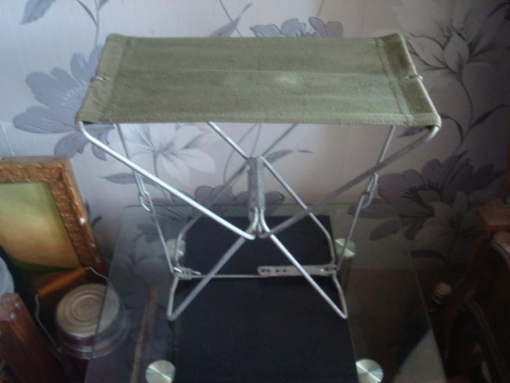 Складной стульчик,сидушка СССР, фото №5