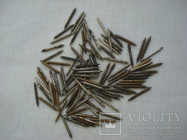 Шпильки ушки к часам 100 штук , лот № 4., фото №2