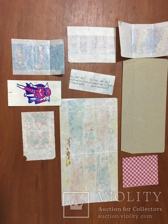 Этикетки от жвачек, фото №5