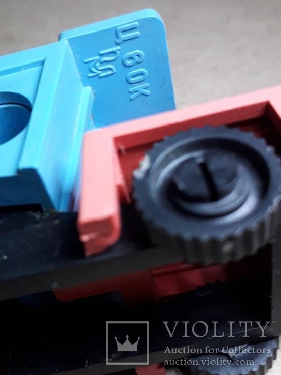 Необычная Машинка Самосвал БелАЗ ,рабочая точилка для карандашей, СССР, фото №3