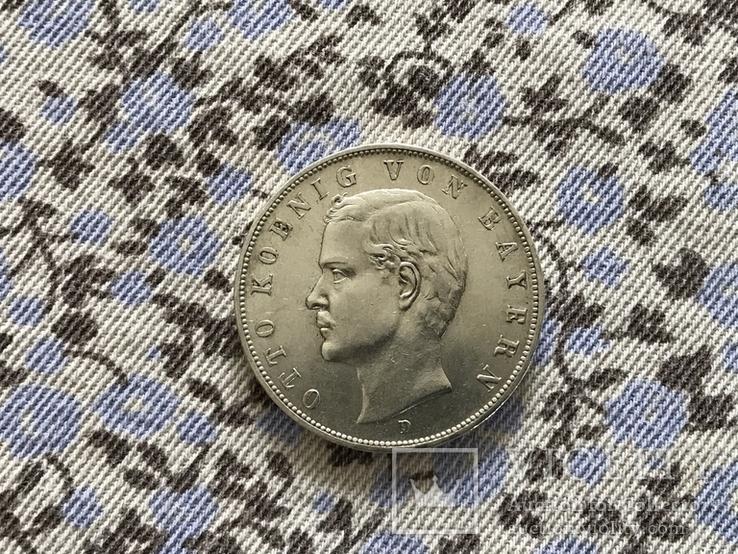 3-марки-1909р.Баварія(Отто), фото №2
