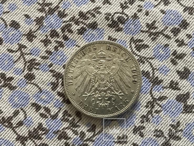 3-марки-1909р.Баварія(Отто), фото №3
