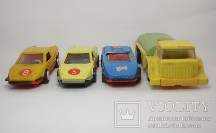 Три гоночные машинки СССР и Бензовоз, фото №3