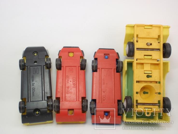 Три гоночные машинки СССР и Бензовоз, фото №6