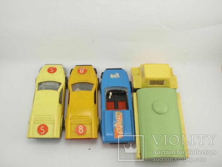 Три гоночные машинки СССР и Бензовоз, фото №7