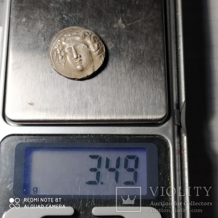 Древняя Грецыя серебро копия, фото №5