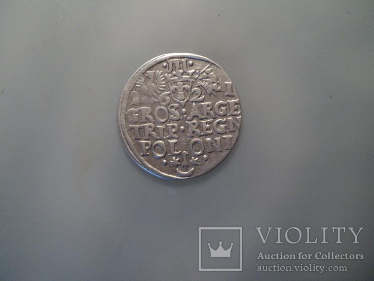Трояк 1621 г, фото №7