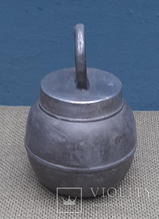 Свинцовая емкость с герметичной крышкой., фото №5