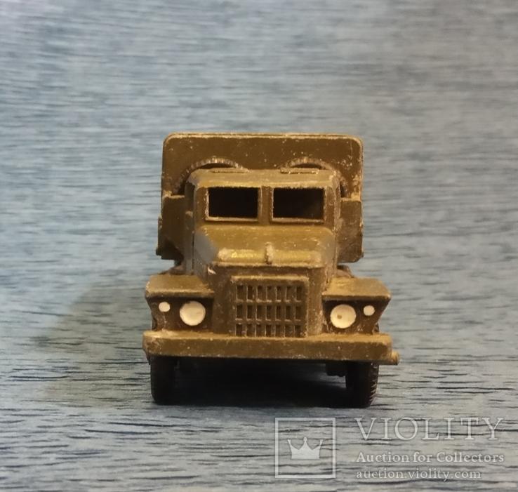 Грузовик военный металл клеймо ТПЗ СССР, фото №6