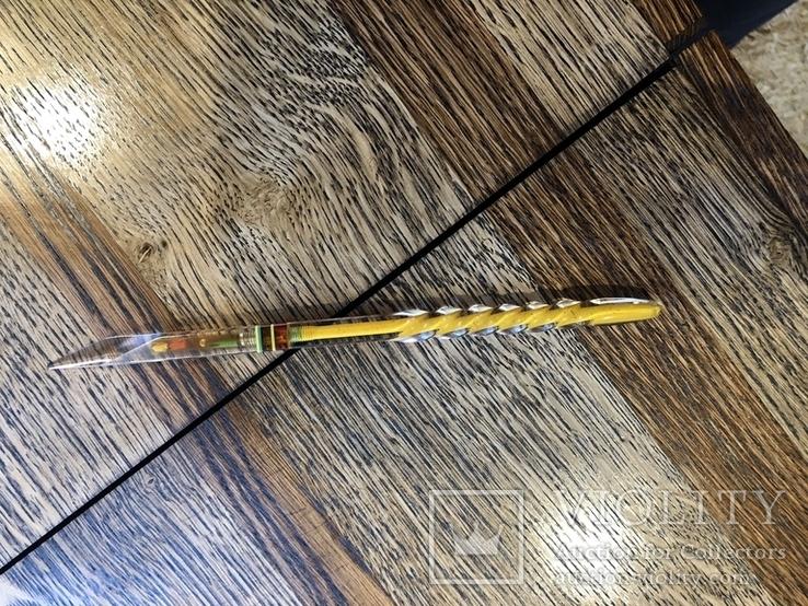 Шариковая ручка оргстекло ссср (Зекпром), фото №2