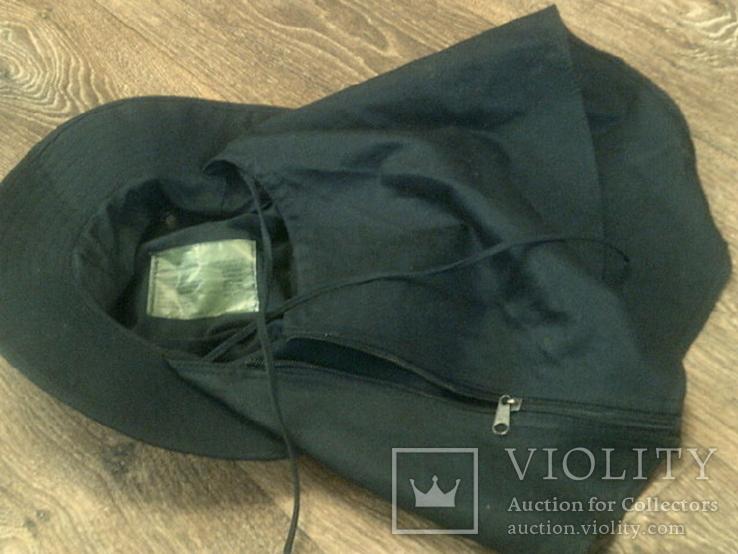 Черная шляпа - панама с шторкой (Usa), фото №10