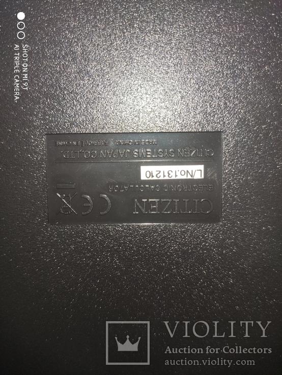 Калькулятор Citizen SDC-888TII Новый, фото №3