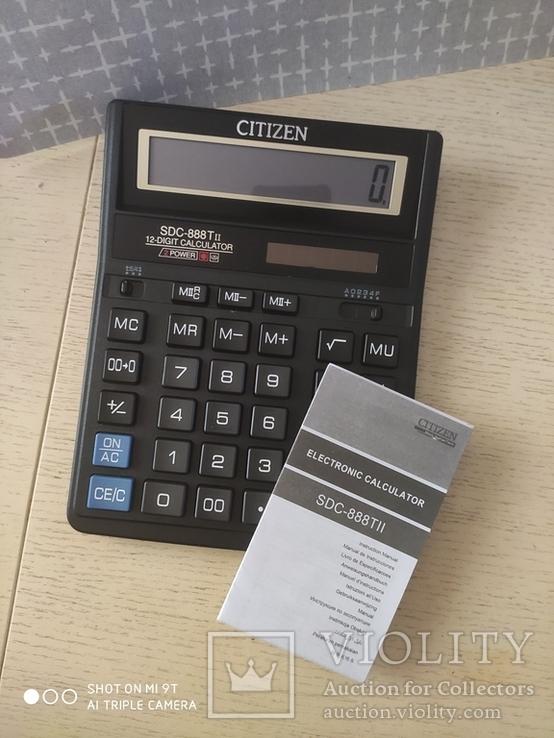 Калькулятор Citizen SDC-888TII Новый, фото №4