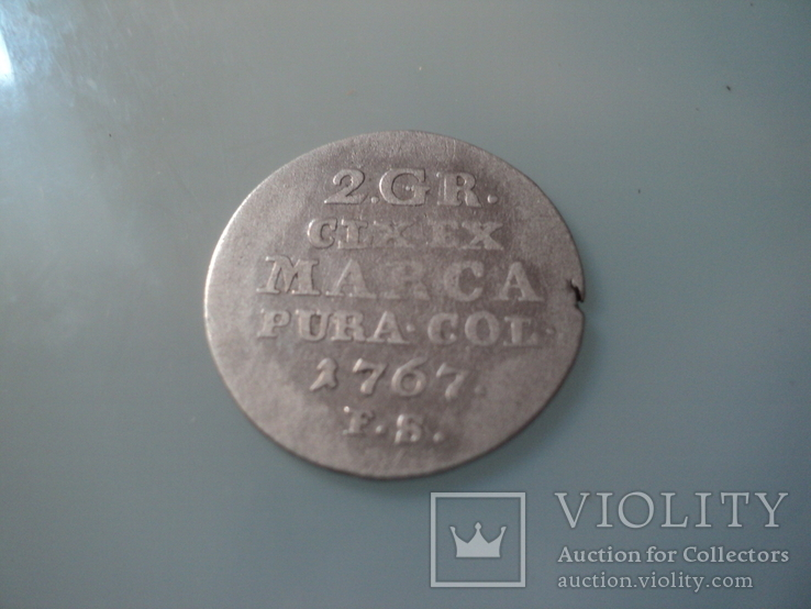 2 гроша 1767, фото №2