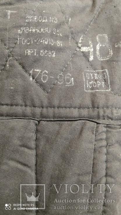 Зимние брюки танковых подразделений  ВС СССР, фото №3