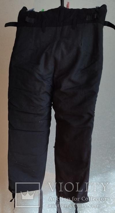 Зимние брюки танковых подразделений  ВС СССР, фото №4