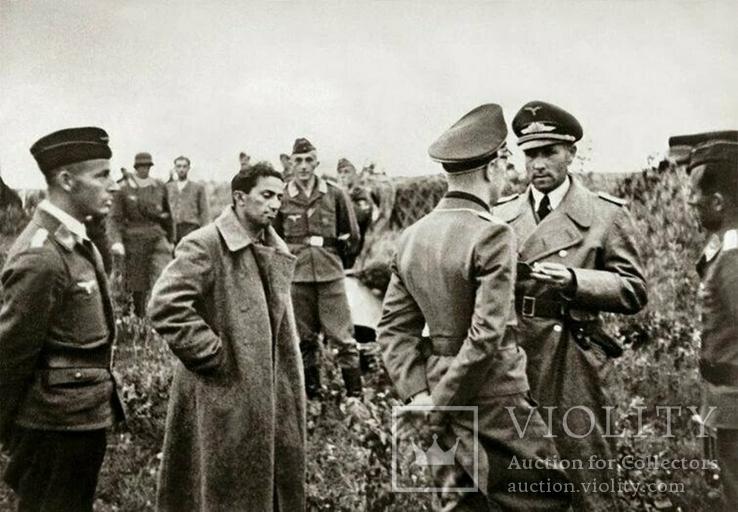 Сын Сталина Яков Джугашвили в немецком плену, 1941 год