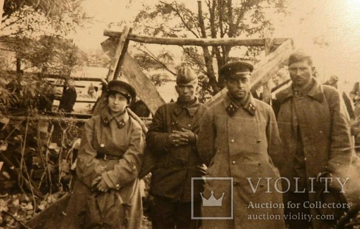 Председатель воентрибунала 12-го мехкорпуса военюрист 2 ранга Чернявский в немецком плену