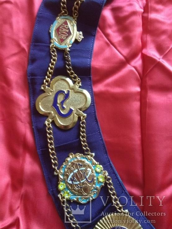 Нагрудная лента Старинного Королевского Ордена Буйволов, фото №4