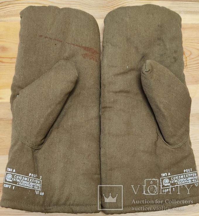 Меховые рукавицы (шубинки) для ПВ СССР, фото №3