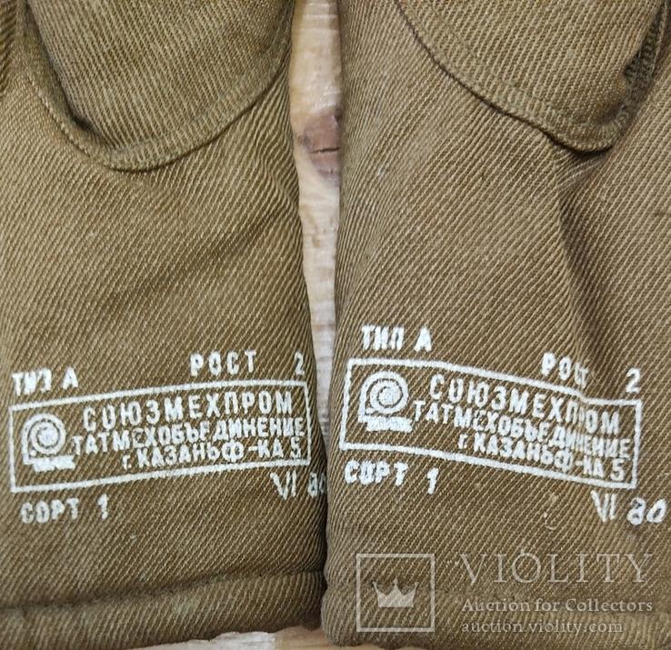 Меховые рукавицы (шубинки) для ПВ СССР, фото №5