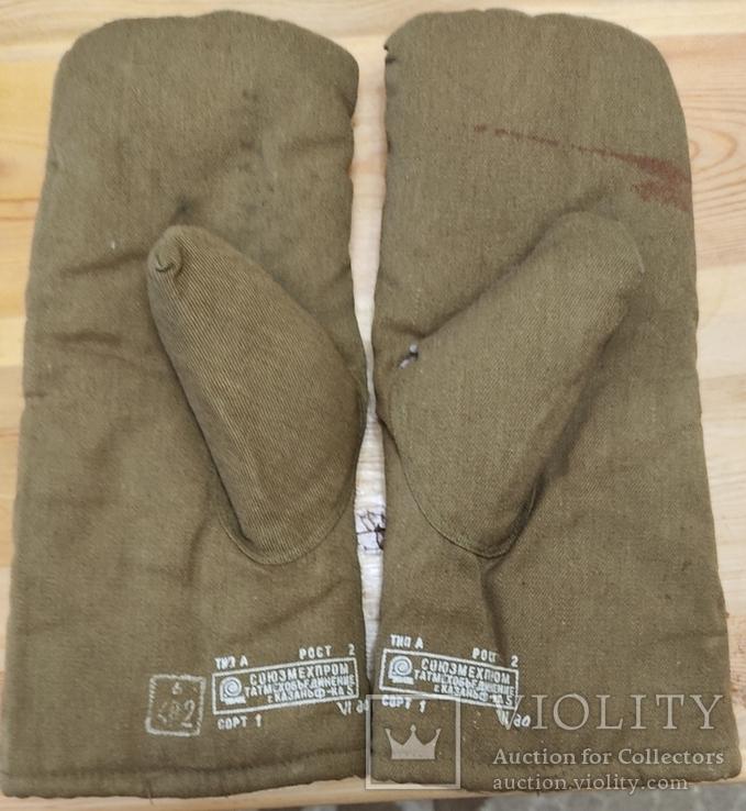 Меховые рукавицы (шубинки) для ПВ СССР, фото №2
