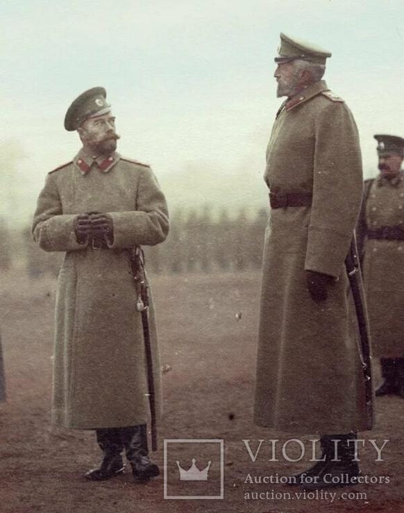 Император Николай II и его дядя Великий князь Николай Николаевич