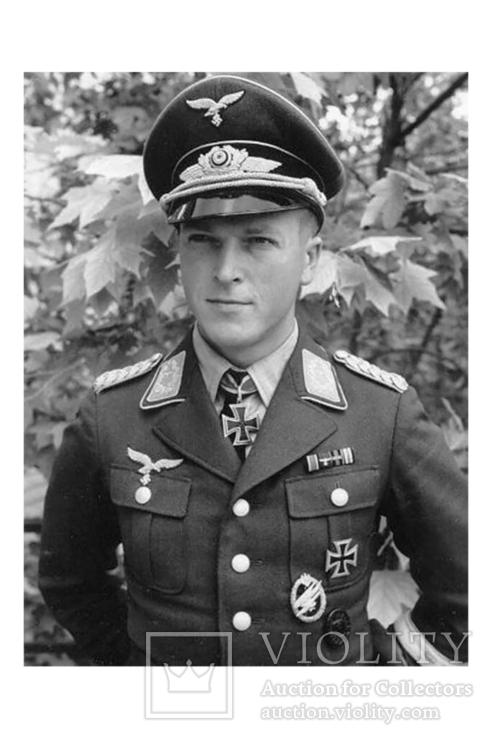 Рудольф Витциг, легенда немецких воздушно-десантных войск.