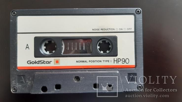 Касета GoldStar HP 90 (Release year: 1989-91), фото №5