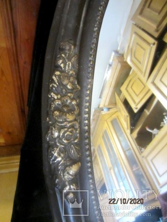 Настенное зеркало барокко дерево грунт 105 cm x 57 cm винтаж, фото №13